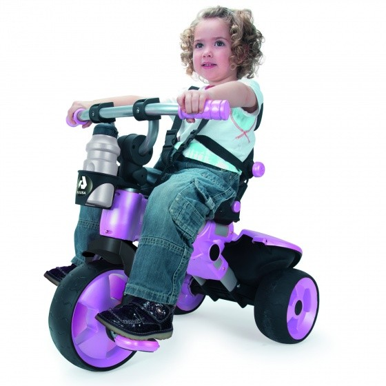 Dreirad - City Trike Junior Rosa