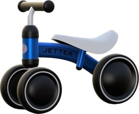 Laufrad -Kinderlaufrad - loopfiets Junior Blau