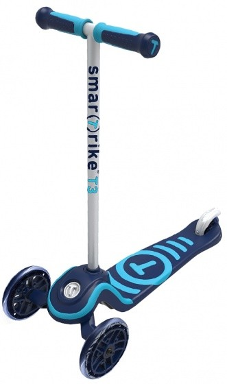 Scooter - Tretroller - Scooter T3 step Junior Blau