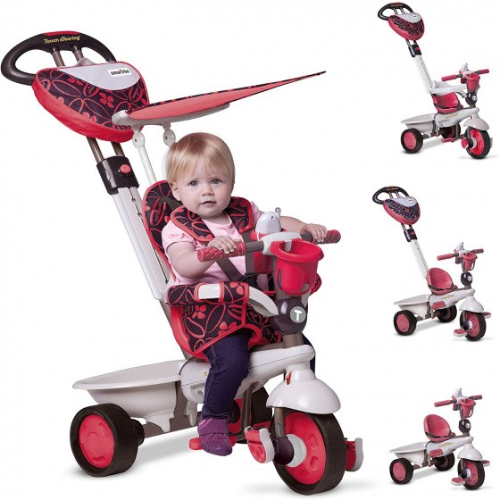 Dreirad - Buggy - Dream 4-in-1 Junior Rot