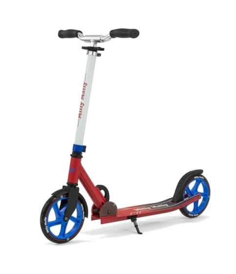 Scooter - Tretroller - aluminium kinderstep Buzz Junior Rot/Schwarz
