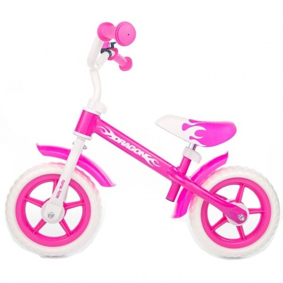 Laufrad -Kinderlaufrad - loopfiets Dragon Junior Rosa